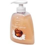 Жидкое натуральное мыло линии SPA, молочный шоколад Арго фото