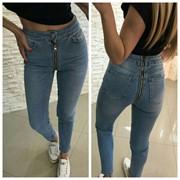 Женские джинсы скини в разных моделях. АК-8-0718 фото