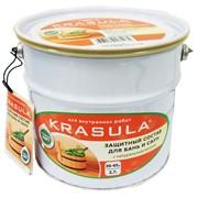 Защитная пропитка для бань и саун. фото