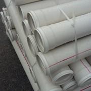 Труба ПВХ канализационная ⌀75 мм 2,2 мм 1 м фото
