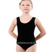 Купальник гимнастический майка х/б размер 38-40 фото