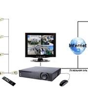 Электромонтажные работы сигнализации, видеонаблюдения, домофонов, систем ограниченого доступа фото