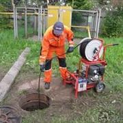 Прочистка сетей водоотведения и канализации фото