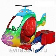 Детский аттракцион Качалка Детский вертолёт фото