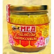 Мёд с цветочной пыльцой фото