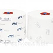 Т6 - Tork туалетная бумага Mid-size в миди рулонах (производство г. Советск) - 27 рул/кор, 2 слоя фото