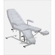 Педикюрное кресло ПК-03 Марья на гидравлике (белый) фото
