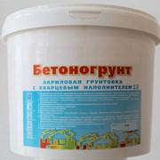 Бетоногрунт бетоноконтакт акриловый с наполнителем 20 кг фото