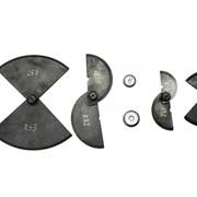 Шаблоны на галтели оси колесной пары ШГО-ТЭМ2 фото