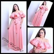 Очень красивое платье в пол,в расцветках фото