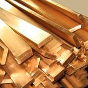 Полоса (Шина) бронзовая 12,5x250х1500 БрАМц9-2 ГПРХХ ГОСТ 1595-90 фото