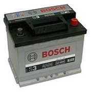 Аккумулятор Bosch S3 56 Ач 480 А прямая полярность 242*175*190 фото
