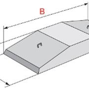 Плита железобетонные ленточных фундаментов ФЛ 16.8-3 фото