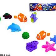 Игрушка пластизолевая пищалка морские животные 21-4301 фото