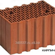 Блок керамический Porotherm 38 поризованный фото
