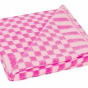 Одеяло байковое в клетку разм. 140*100 фото