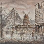 "Картина ""Парижские улочки"" 61х91, 61х51 фото"