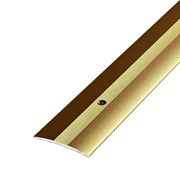 ЛУКА Порог стыкоперекрывающий ПС 03-1800-04 бронза (1,8м) 37мм фото