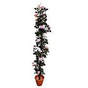 Искусственное дерево из роз, розовое, 180 см фото