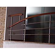 Перила и лестничные ограждения с алюминия фото