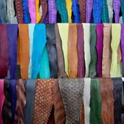 Высококачественная кожа из рыбы фото