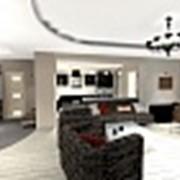 3D макет однокомнатной квартиры фото