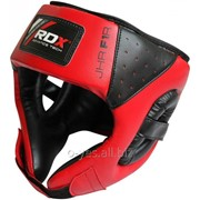 Боксерский шлем детский RDX Red фото