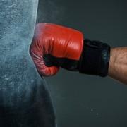 Занятия боксом. фото
