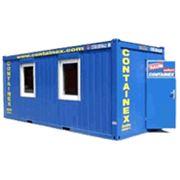 Контейнер сборно-разборный офисно-бытовой санитарный складской морской контейнер-туалет фото
