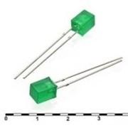 Светодиод FL 5x5 green 30mcd 2.1v фото