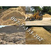 Песок Одесса, песок речной, песок с доставкой, песок речной строительный, песок карьерный, щебень Одесса фото
