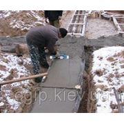 Противоморозная добавка в бетон фото