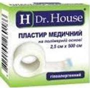 """Пластырь медицинский бактерицидный на нетканой основе """"Dr. House"""" 2,5см*500см фото"""