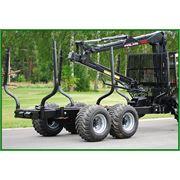 Прицеп тракторный лесовозный PALMS 122 (12 т) фото