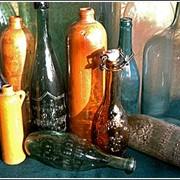 Винные стеклянные бутылки
