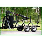 Прицеп тракторный лесовозный PALMS 81 (8 т) фото