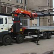 Аренда кран-манипулятораHYUNDAI HD-170 (6 тонн) фото