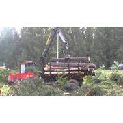 Подвозка древесины фото