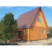 Каркасный деревянный сборный,перевозимый котедж.