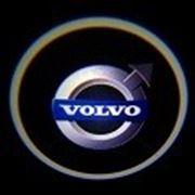 Проекция логотипа Volvo фото