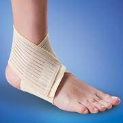 Бандаж на голеностопный сустав эластичный фото