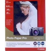 Высокоглянцевая фотобумага Canon Photo Paper Pro 10 x 15 см фото