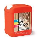 Огнебиозащитный состав для древесины и тканей фото