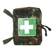 Аптечка First Aid Kit Сумка-раскладушка, Цвета: flecktarn, cub Размер: 18х12.5х5.5 см. Продажа в Украине фото