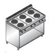 Плита электрическая Bertos E7P6M фото