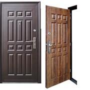 Дверь металлическая модель YD 16 фото