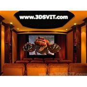 3D видео зал 3D мини кинотеатры на 12-60 человек фото