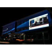 Проекционная реклама. ГОБО проекторы. Проекторы логотипов. Световые пушки. фото