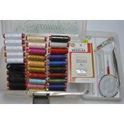 Швейные аксессуары наборы ниток и аксессуары для шитья фото