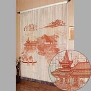 Нитяные шторы панно Китайская фото
